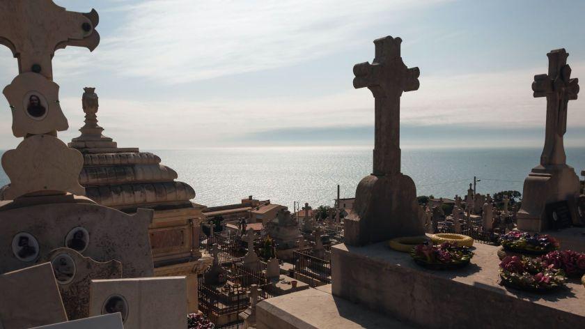 Le cimetière marin à Sète - octobre 2010